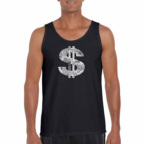 Los Angeles Pop Dollar Sign Art Tank Top