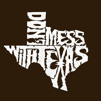Los Angeles Pop Art Pop Dont Mess With Texas Art Word Art Tank Top