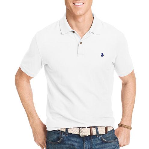 IZOD Slim Fit Short Sleeve Solid Polo Shirt