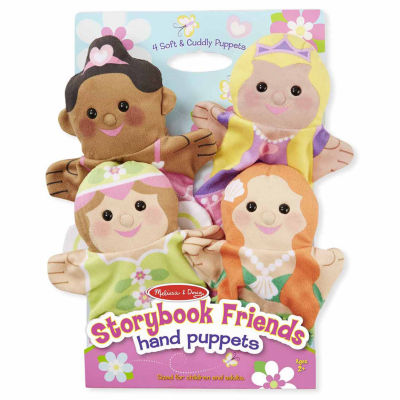 Melissa & Doug® Storybook Friends Hand Puppets