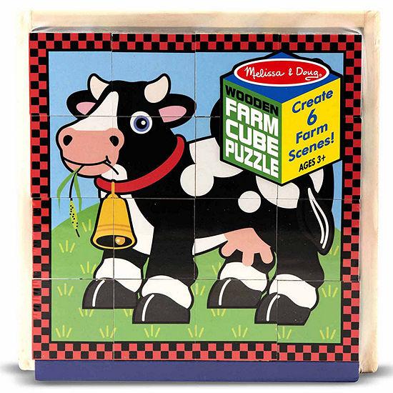 Melissa & Doug® Farm Cube Puzzle