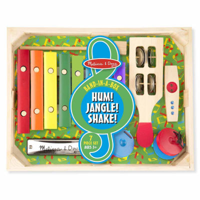 Melissa & Doug® Band-in-a-Box Hum! Jangle! Shake!