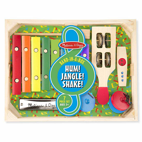 Melissa & Doug Band-In-A-Box Hum! Jangle! Shake!