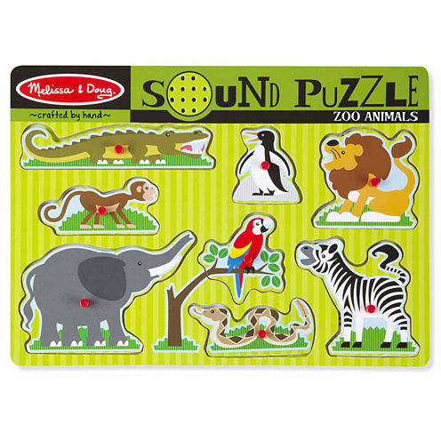 Melissa & Doug® Zoo Animals Sound Puzzle
