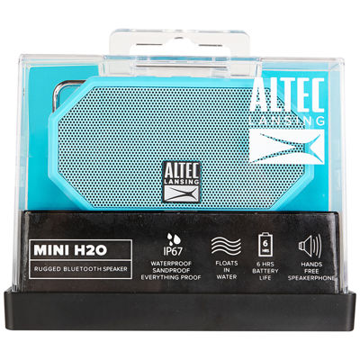 Altec Lansing Waterproof  Mini H20 Floating Portable Speaker