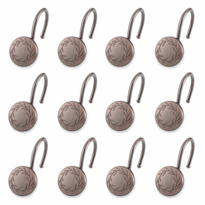 Elegant Poet Laureate Shower Curtain Hooks