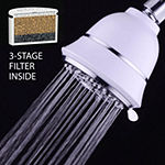 AquaCare By HotelSpa® SpiralFlo 4-inch 6-Setting Shower Head