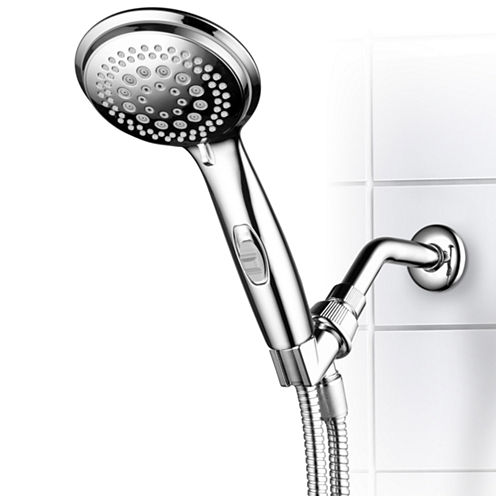 DreamSpa® 9-Setting High-Power Ultra-Luxury HandShower with Patented ON/OFF Pause Switch / PremiumChrome Finish