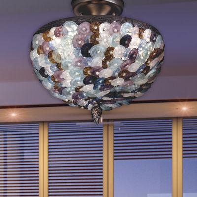 Dale Tiffany™ Multi-Color Luxor Flush Mount