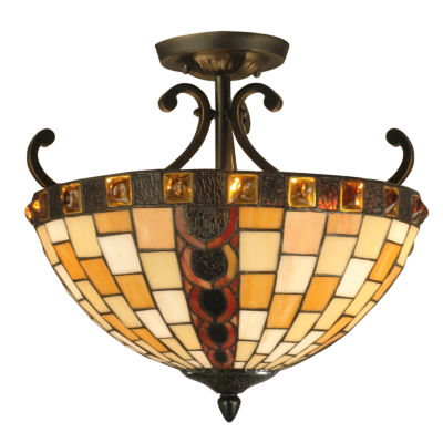 Dale Tiffany™ Baroque Semi Flush Mount