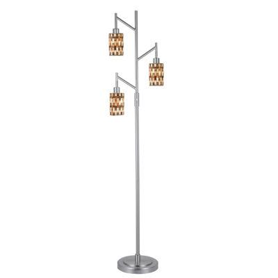Dale Tiffany™ Kalmia 3-Light Mosaic Floor Lamp