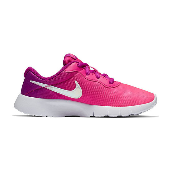 Nike Tanjun Print Girls Running Shoes Lace-up - Little Kids