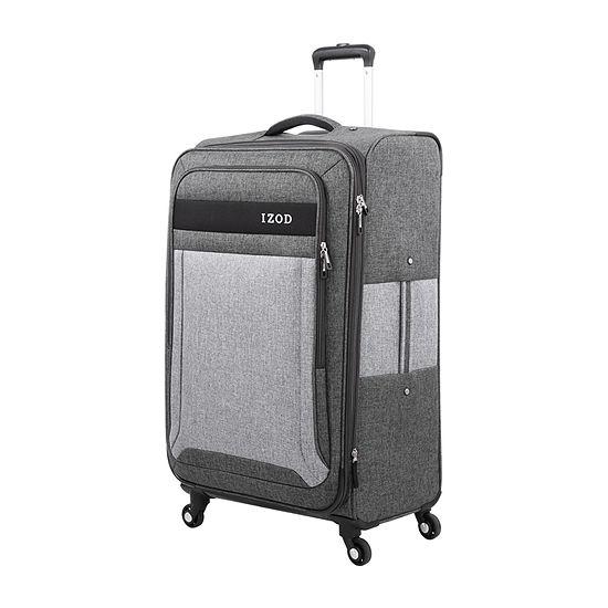Izod Newport 24 Inch Lightweight Luggage