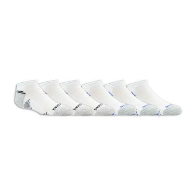 Skechers Skechers Boys Socks 6 Pair Low Cut Socks