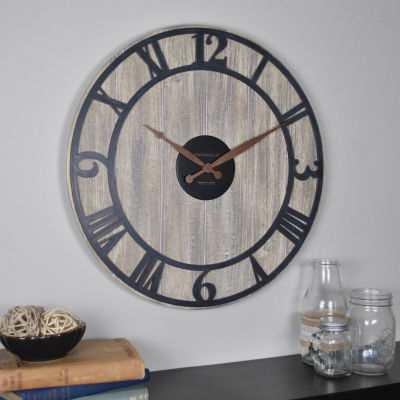Finley Planks Wall Clock-31068
