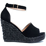 GC Shoes Womens Shannon Wedge Sandals