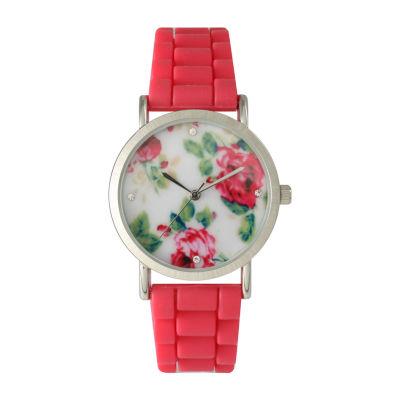 Olivia Pratt Unisex Pink Bracelet Watch-40004pink