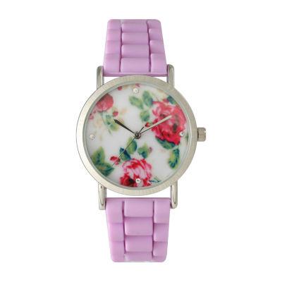 Olivia Pratt Unisex Purple Bracelet Watch-40004lavender