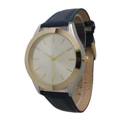 Olivia Pratt Unisex Blue Bracelet Watch-513682navy