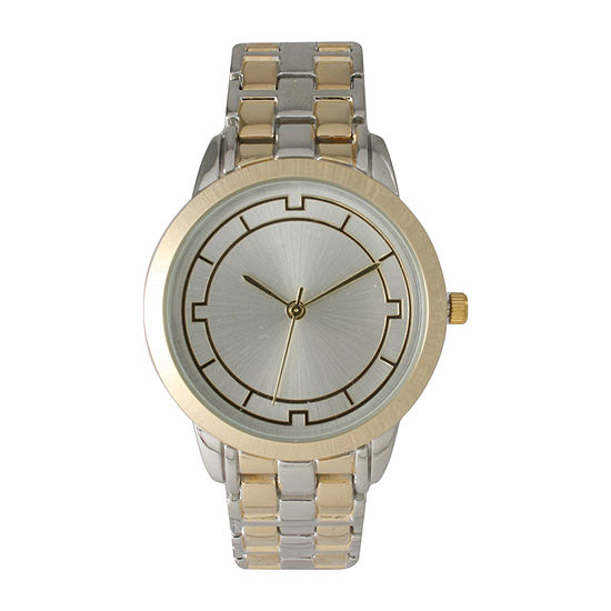 Olivia Pratt Unisex Two Tone Strap Watch 514237
