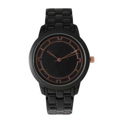 Olivia Pratt Unisex Black Bracelet Watch-514237black