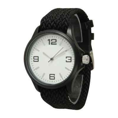 Olivia Pratt Unisex Black Strap Watch-10436