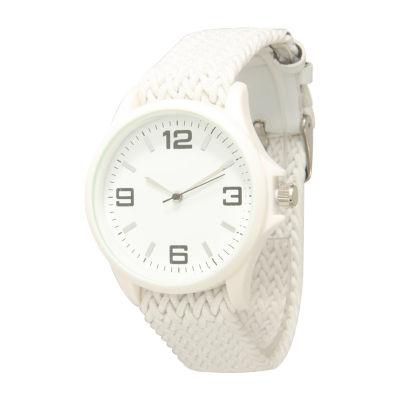 Olivia Pratt Unisex White Strap Watch-10436