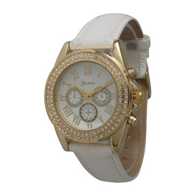 Olivia Pratt Unisex White Strap Watch-514032