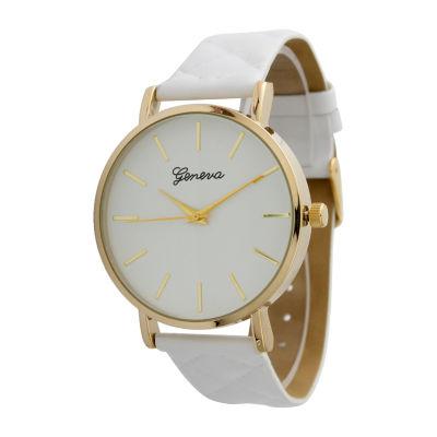 Olivia Pratt Unisex White Strap Watch-13029