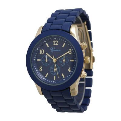 Olivia Pratt Unisex Blue Strap Watch-12643navy