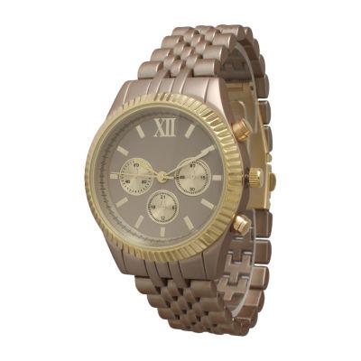 Olivia Pratt Unisex Beige Bracelet Watch-514018