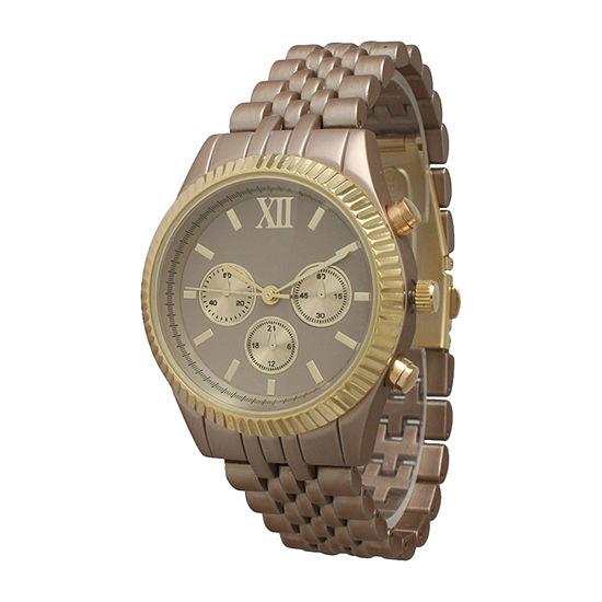 Olivia Pratt Unisex Beige Bracelet Watch 514018