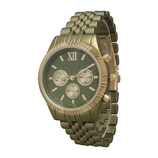 Olivia Pratt Unisex Green Bracelet Watch-514018olive