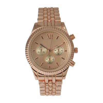 Olivia Pratt Unisex Rose Gold tone Bracelet Watch-514018