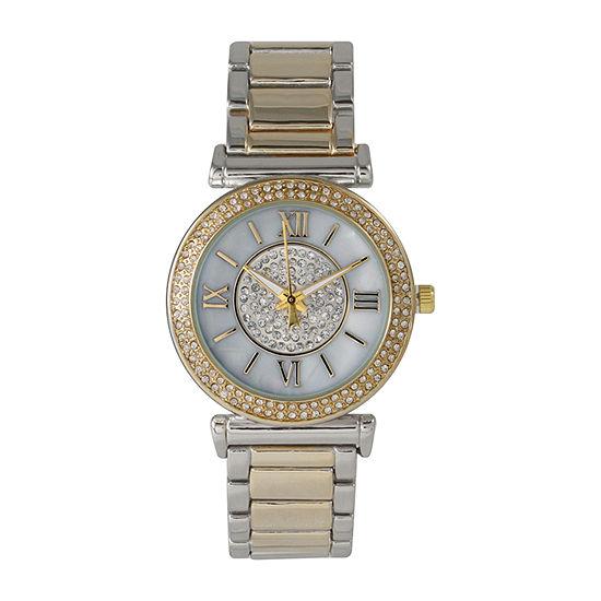 Olivia Pratt Unisex Two Tone Bracelet Watch-514422