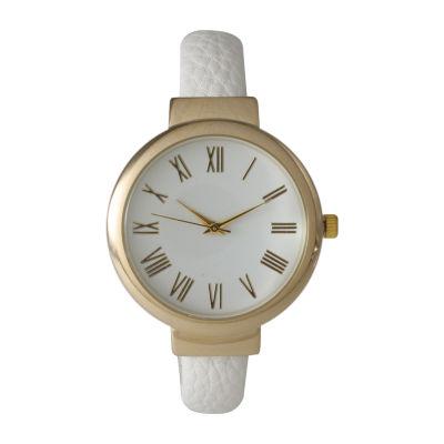 Olivia Pratt Unisex White Strap Watch-515132