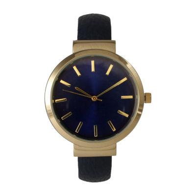 Olivia Pratt Unisex Blue Strap Watch-514098bnavy
