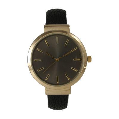 Olivia Pratt Unisex Black Strap Watch-514098