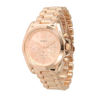 Olivia Pratt Unisex Rose Gold tone Bracelet Watch-15079rng