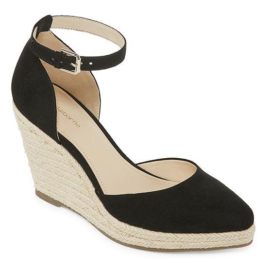 cfda285e3544 Liz Claiborne Velma Womens Wedge Sandals JCPenney