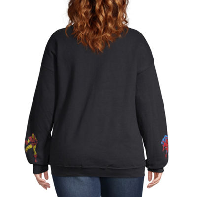 Marvel Sweatshirt - Juniors Plus