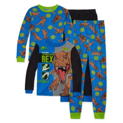 Jurassic World 4-pc. Pajama Set Boys