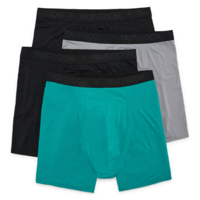 Fruit Of The Loom® Breathable Boxer Briefs 3+1 Bonus Pack - Big