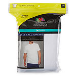 Fruit of the Loom Short Sleeve Crewneck Tee 3+1 Bonus Pack - Big & Tall