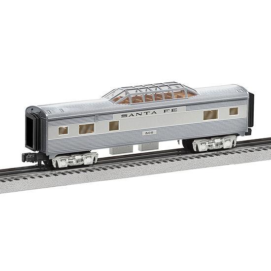 Lionel Trains Santa Fe Add-On Vista Dome Cars