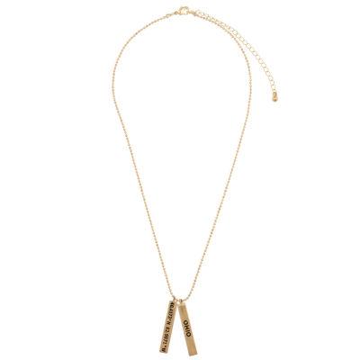 Decree Ohio Womens Pendant Necklace