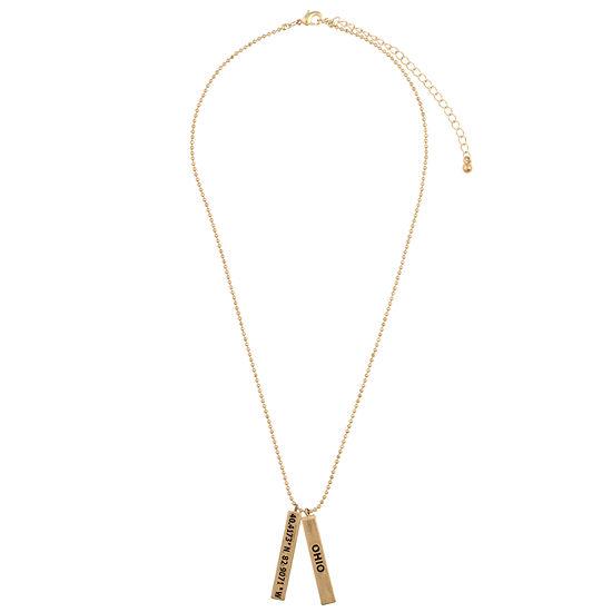 Decree Ohio 16 Inch Pendant Necklace