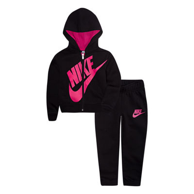 Nike 2-pc. Logo Pant Set Girls