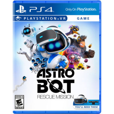 Playstation 4 Psvr Astro Bot: Rescue Mission Video Game