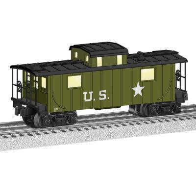 Lionel Trains Green U.S. Caboose